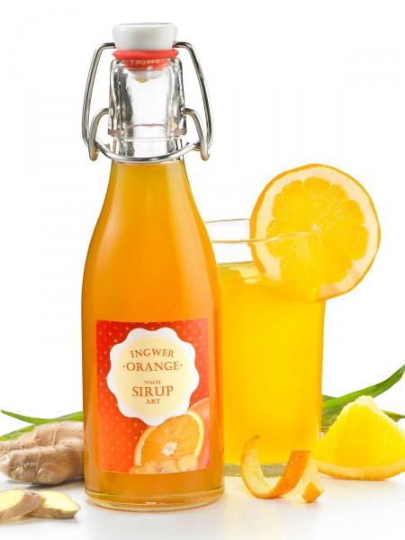 Ingwer-Orange nach Sirup-Art