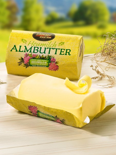 Heumilch Almbutter