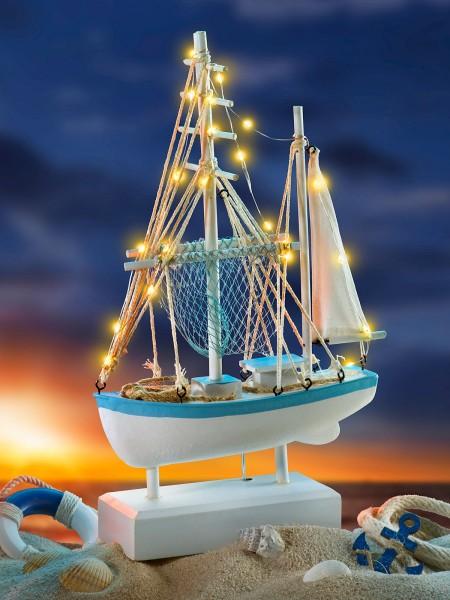 Leuchtendes Boot