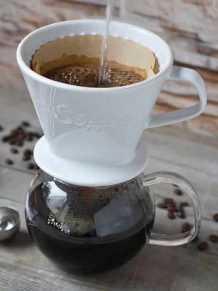 Porzellan-Kaffeefilter