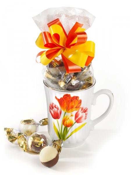 """Süßer Becher """" Tulpen"""""""