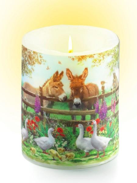 """Kerze """"Kleine Farm"""""""