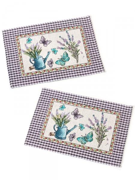 """Platzset-Duo """"Lavendel"""""""