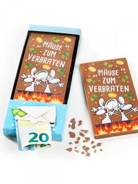Mäusetafel mit Geldfach