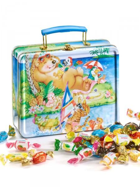 Süßer Urlaubskoffer