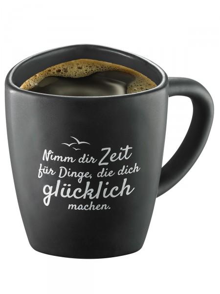 """Moin! Kaffeebecher """"Zeit"""""""