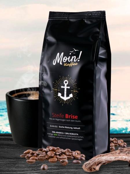 "Moin! BIO-Kaffee ""Steife Brise"", Bohne"