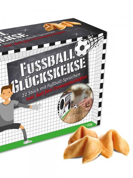 "Fußball-Glückskekse ""Torwand"""