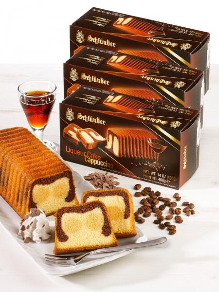 """""""3 für 2"""" Cappuccinolikör-Kuchen"""