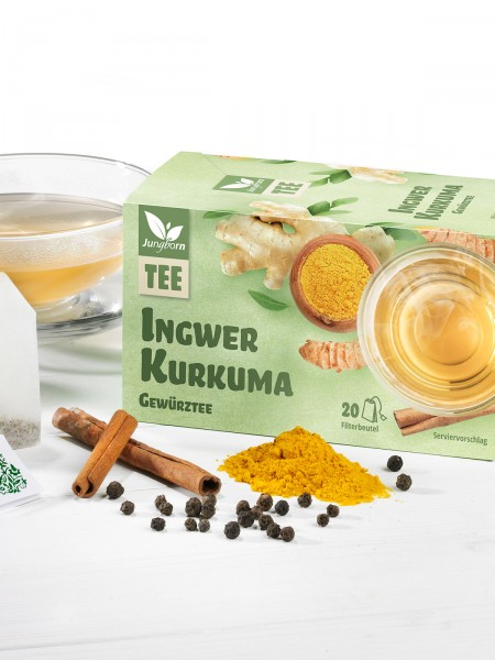 Ingwer-Kurkuma-Gewürztee
