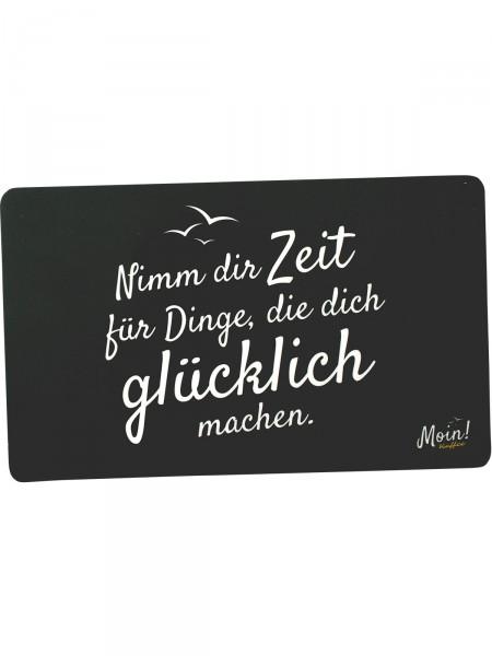 """Moin! Frühstücksbrett """"Zeit"""""""