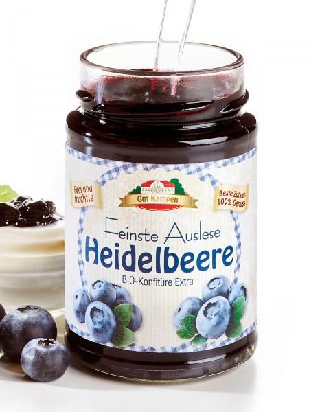 Bio-Heidelbeer-Konfitüre