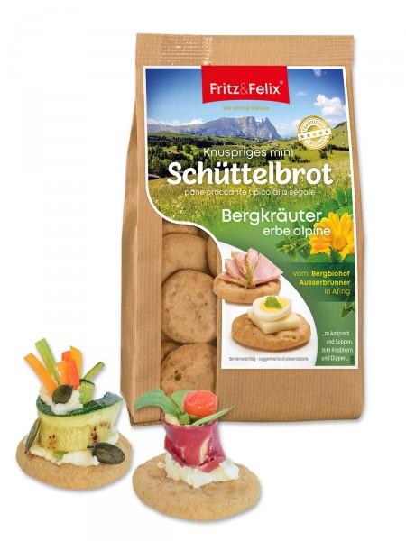 """Mini-Schüttelbrot """"Bergkräuter"""""""