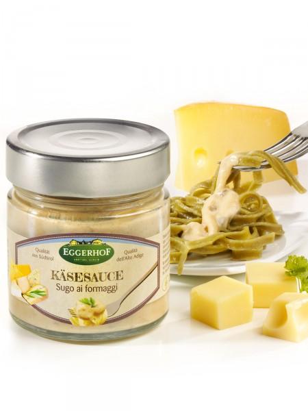 Soße mit Südtiroler Käse