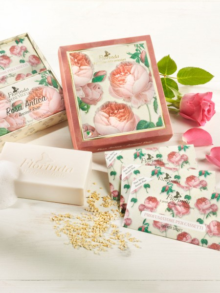 "Duft- und Seifenset ""Rosa Antica"""