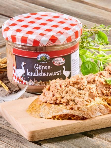 Gänse-Landleberwurst