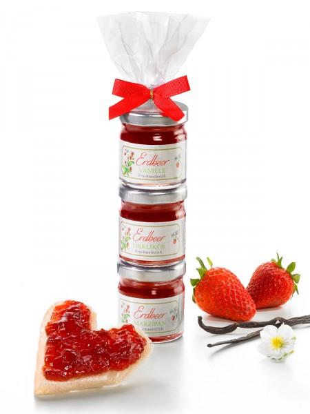 Erdbeer-Türmchen