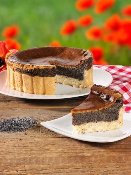 Mohn-Rahm-Kuchen
