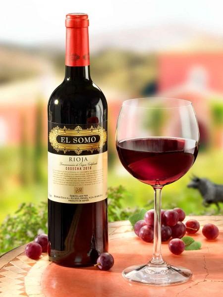 "Rioja ""El Somo"", rot"