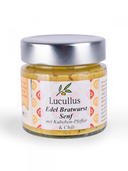 Edel-Bratwurst Senf