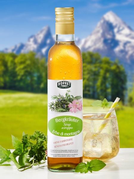 Bergkräuter-Sirup