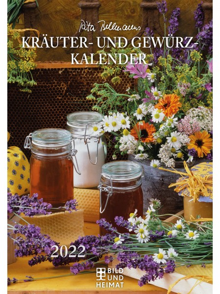 Kräuter- und Gewürzkalender 2022