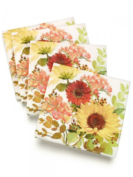"""Servietten """"Sonnige Blumen"""""""