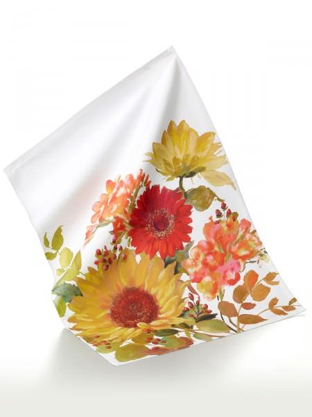 """Geschirrhandtuch """"Sonnige Blumen"""""""