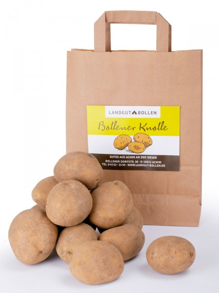 Landkartoffel-Lilly, mehligkochend