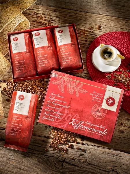 Außergewöhnliche Kaffeemomente, Bohne
