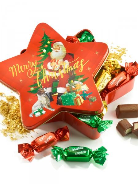 Gefüllter Weihnachtsstern