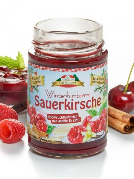 Bio-Winterhimbeere-Sauerkirsche