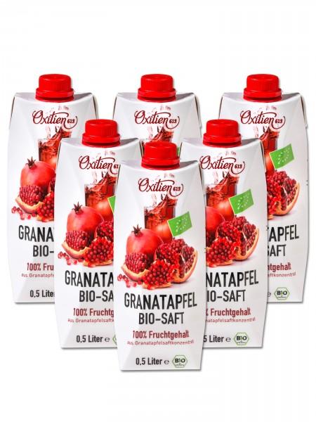 Granatapfel Bio-Saft, 6er Pack