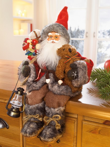 Sitzender Santa