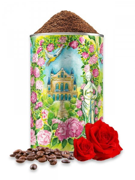 Festkaffee 12, Rosendekor