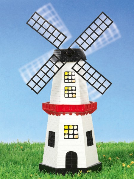 Solar Windmühle