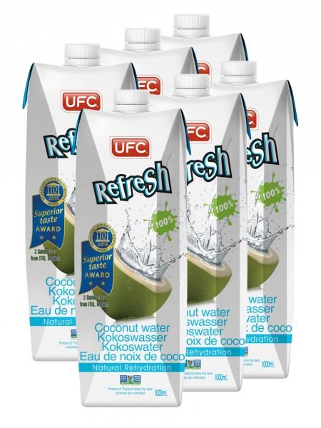 Refresh Kokoswasser, 6l