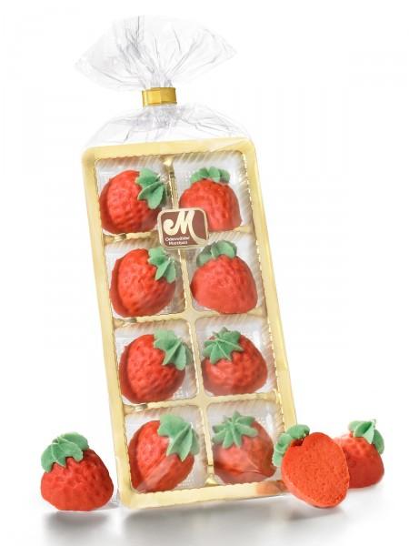 Marzipan-Erdbeeren