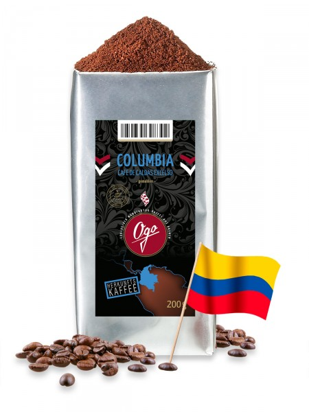 "Columbia ""Caldas Excelso"", gemahlen"