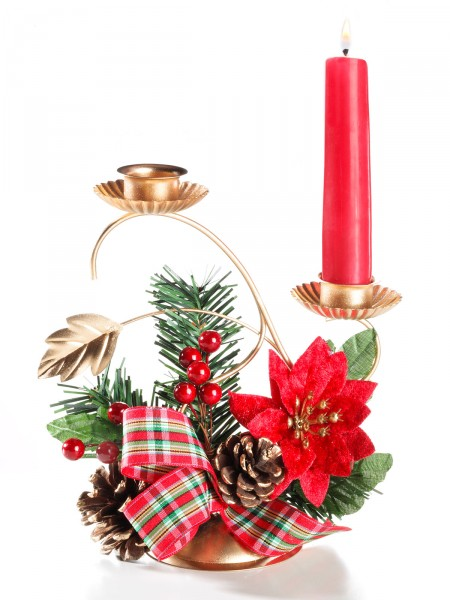 """Kerzenständer """"Weihnachtsstern"""""""