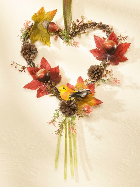 Herbstliches Herz