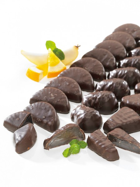 Schoko-Fruchtgelee
