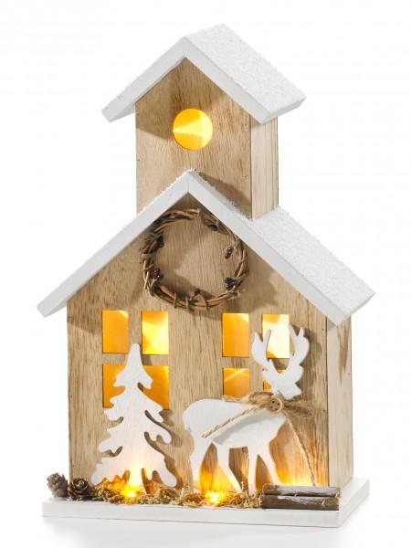 "LED-Leuchthaus ""Winter"""