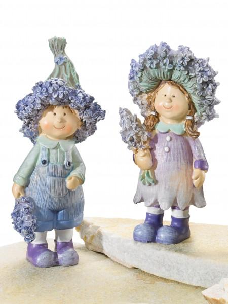 Lavendelkinder-Duo