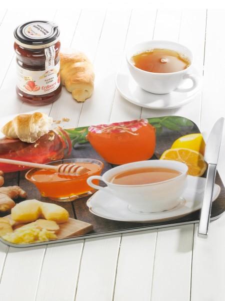 """Brettchen """"Tee & Honig"""""""