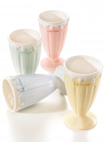 Eisbecher, 4-er Set