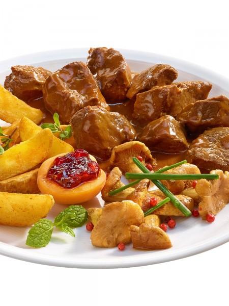 Wildschwein-Edel-Gulasch