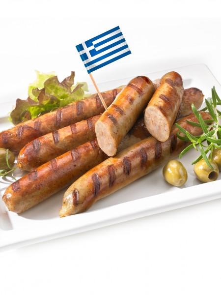 Bratwurst, griechisch