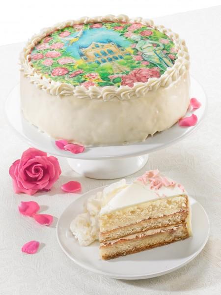"Torte ""Rosengarten"""