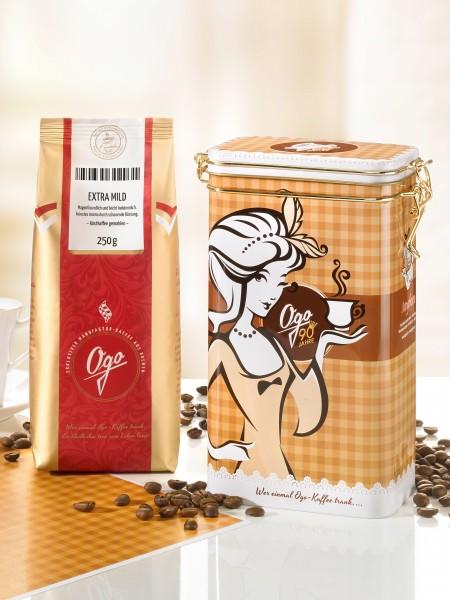 "Präsent ""Kaffeelust"", gemahlen"